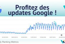 Profitez des updates Google !