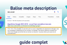 Balise meta description