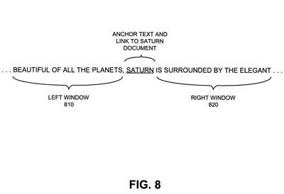 Brevet analyse contexte anchor text backlink