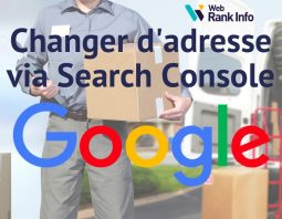 Outil Search Console migration de site