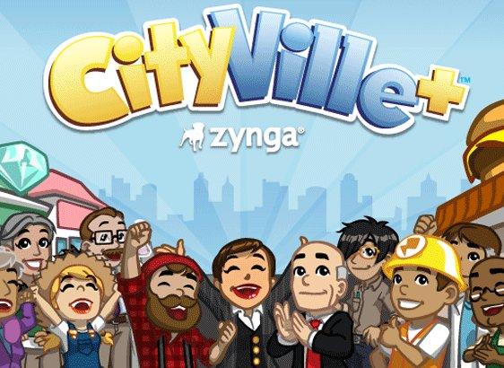 Le jeu CityVille sur Google Plus