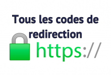 Codes redirection https