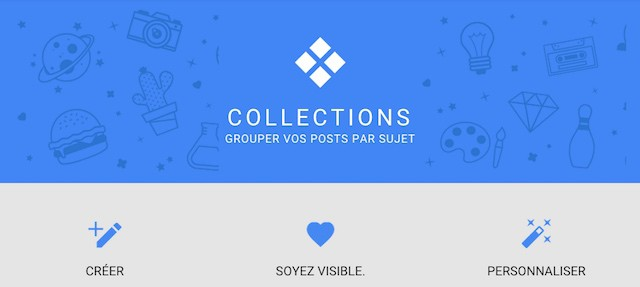 collections de Google Plus