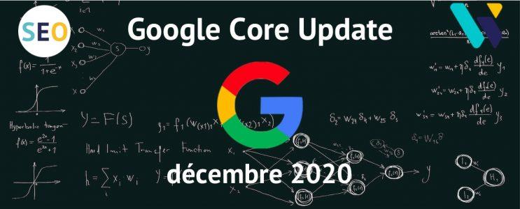 Core Update Google décembre 2020