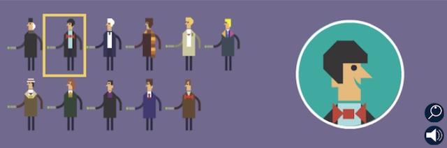 Personnages du doodle Dr Who