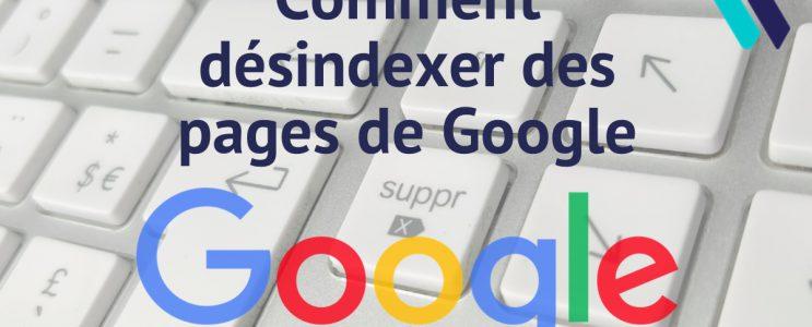 Comment supprimer des pages de Google