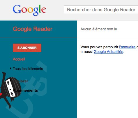 Easter Egg Google Reader