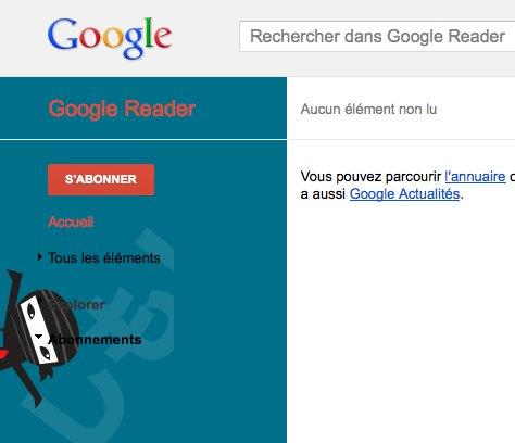 Easter Egg Google Reader