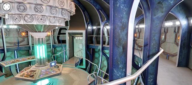 Easter Egg Dr Who: intérieur