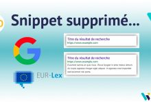 Editeur de presse européen et snippets Google