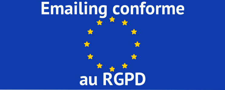 Emailing conforme RGPD