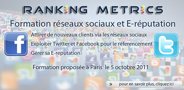 Formation Facebook Twitter