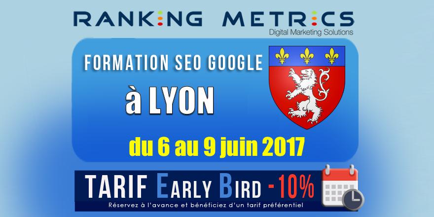 Formation SEO Lyon juin 2017