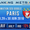 Formation SEO à Paris (juin 2016)