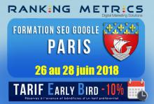 Formation SEO Paris juin 2018