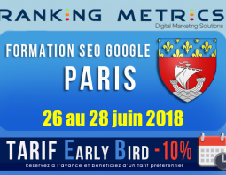 Formation SEO Paris juin 2018