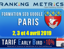 Formation SEO Paris avril 2019