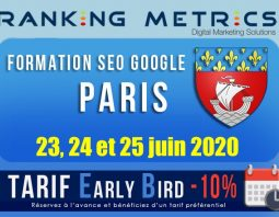 Formation SEO Paris juin 2020