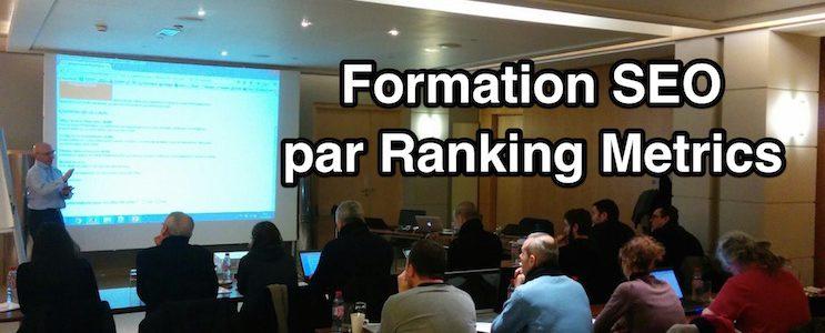 Salle de formation SEO Ranking Metrics