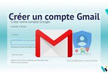 Tuto création de compte Gmail