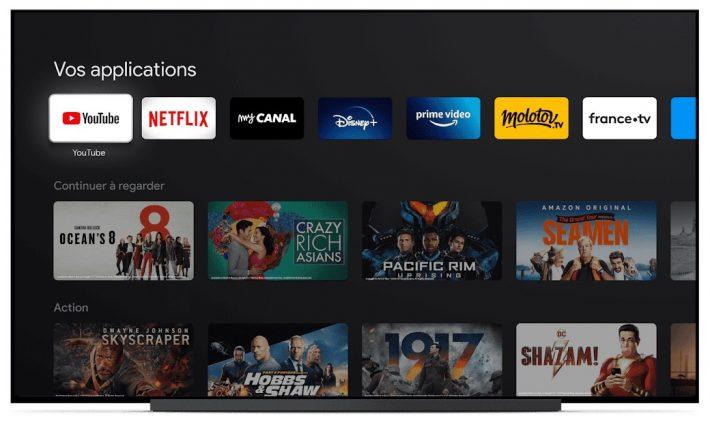 Programmes et applis vidéo pour Chromecast TV