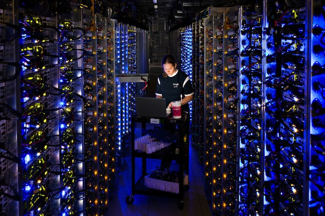 Google data center : diagnostic d'un processeur qui surchauffe