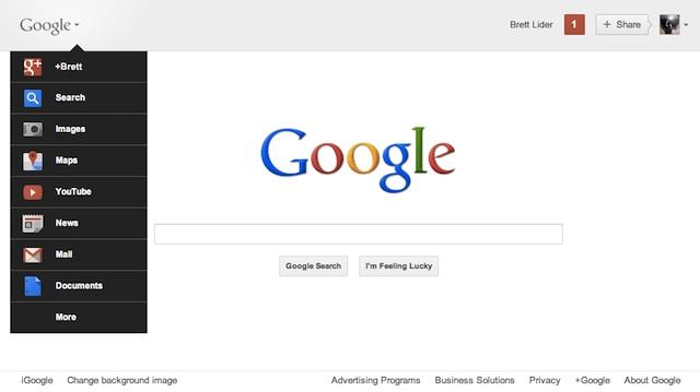 Google: design depuis 2011