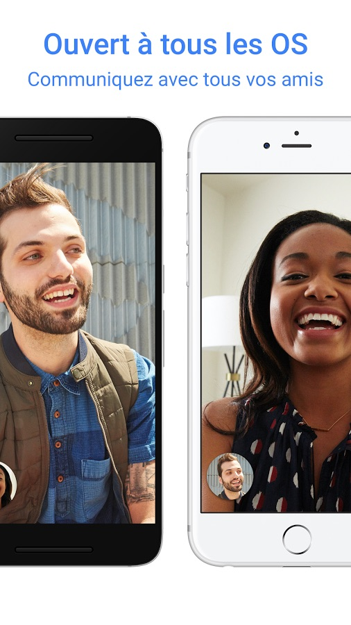 Google Duo plateformes Android iOS