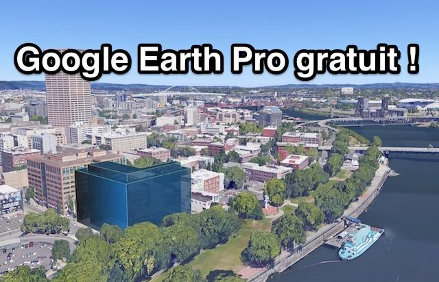 Google Earth pro gratuit