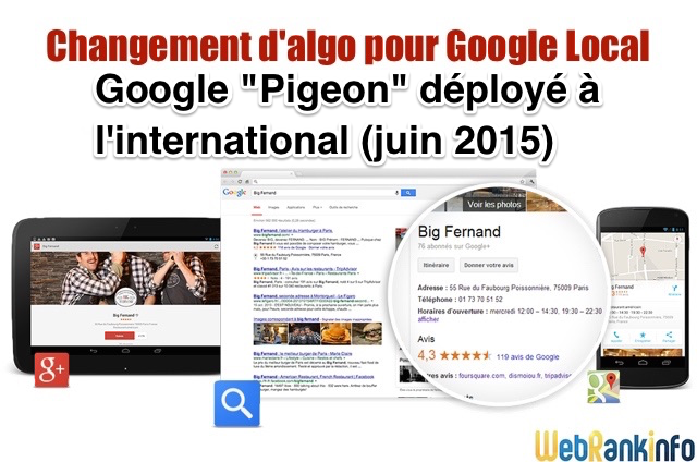 Google Pigeon France