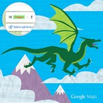 Easter Egg Google Maps : voyage à dos de dragon