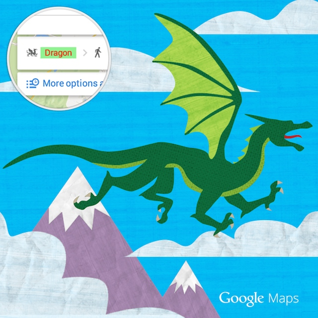 Google Maps Dragon