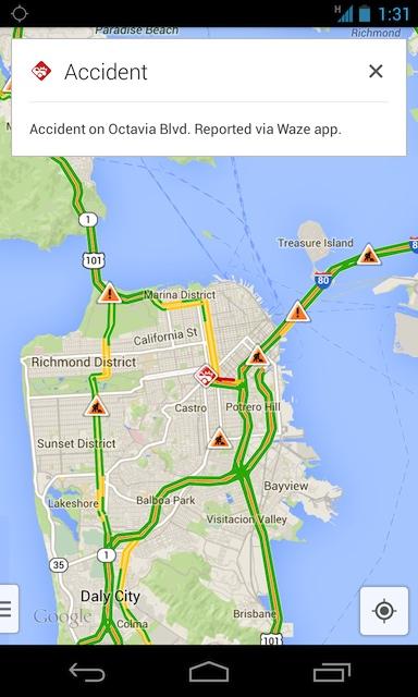 Google Maps intègre Waze