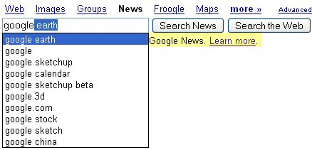Google News Suggest