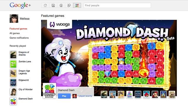 Exemple de jeu Google Plus