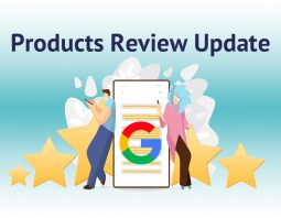 Google Products Review Update