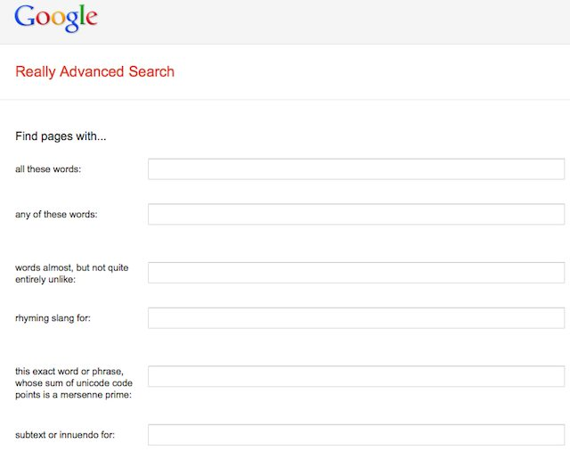 La recherche ultra avancée sur Google