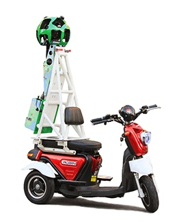 Tricycle Google Street View