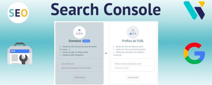 Ajout validation propriété search console