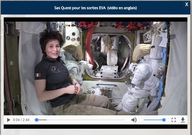 ISS 360 infobulle vidéo