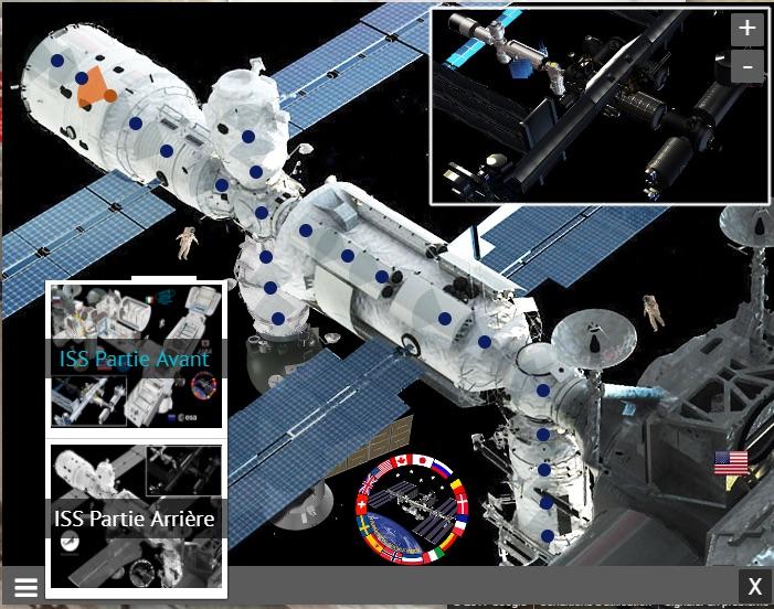Changement de plan dans ISS 360