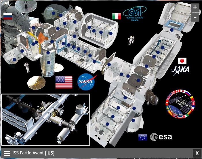 Navigation dans l'ISS 360