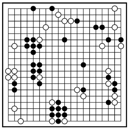 Plateau du jeu de Go