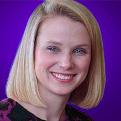 Marissa Mayer, PDG de Yahoo (2015)