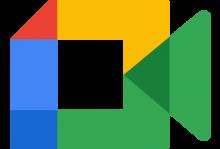 Google Meet (logo 2020)