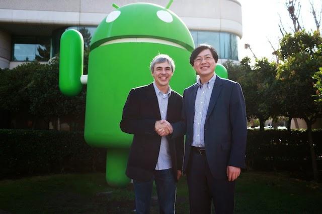 Vente de Motorola Mobility à Lenovo