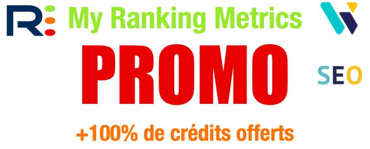 Code promo My Ranking Metrics
