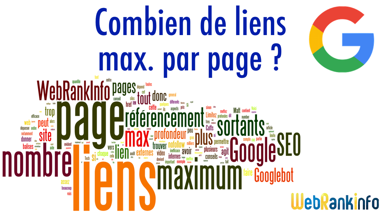 Nombre maximum liens par page