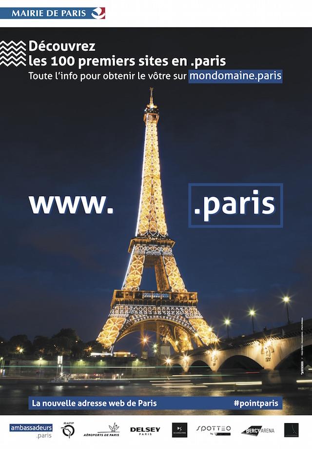 Nom de domaine .paris