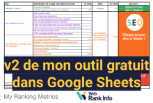 Outil pages non indexées et pages sans impression